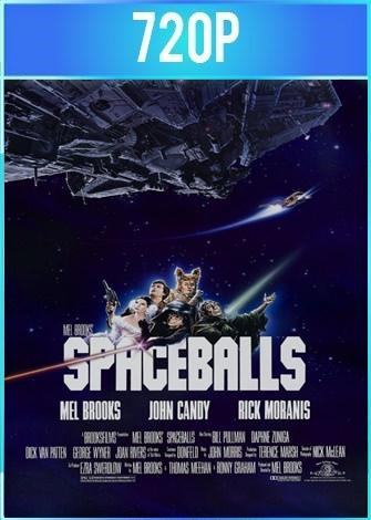S.O.S. Hay un loco suelto en el espacio (1987) BRRip 720p Latino