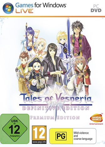 Tales of Vesperia: Definitive Edition PC Full Español