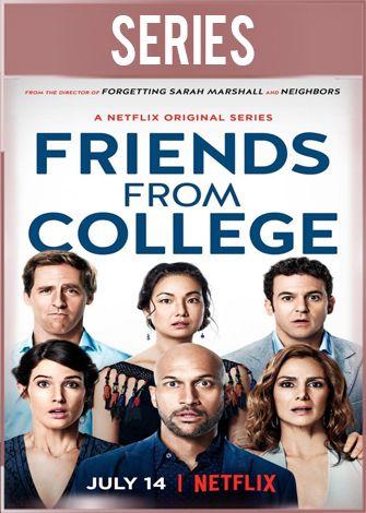 Amigos de la universidad Temporada 1 Completa HD 720p Latino Dual
