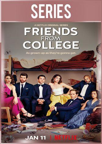 Amigos de la universidad Temporada 2 Completa HD 720p latino Dual