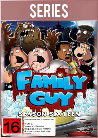 Padre de Familia Temporada 16 Completa HD 720p Latino Dual