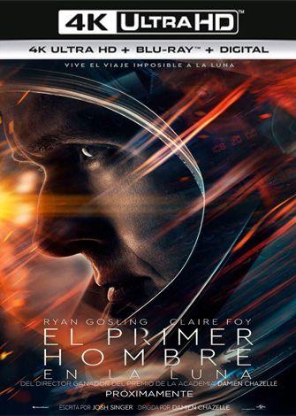 El Primer Hombre en la Luna (2018) 4K Ultra HD Latino Dual