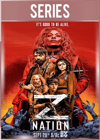 Z Nation Temporada 4 Completa HD 720p Latino Dual
