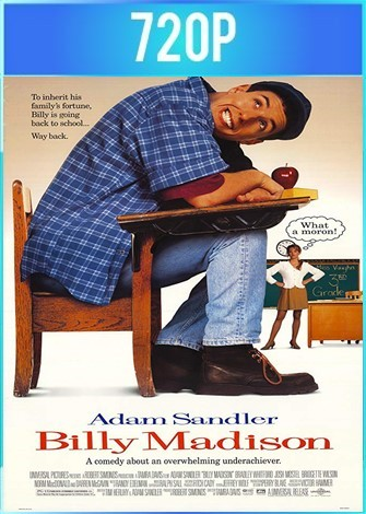 Billy Madison (1995) BRRip HD 720p Latino Dual