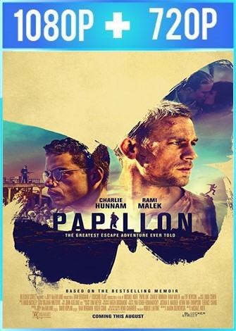 Papillon: la gran fuga (2017) HD 1080p y 720p Latino Dual