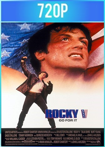 Rocky V (1990) BRRip HD 720p Latino Dual