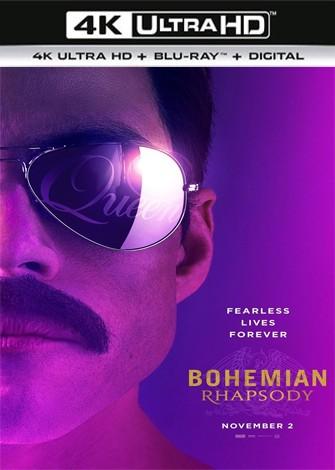 Bohemian Rhapsody (2018) 4K Ultra HD Latino Dual