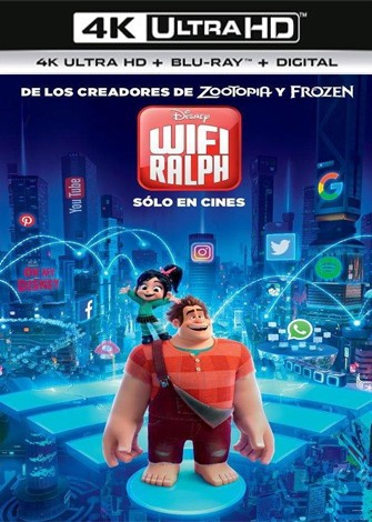 Wifi Ralph (2018) 4K Ultra HD Latino Dual