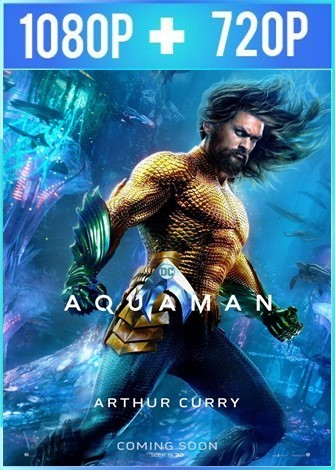 Aquaman (2018) HD 1080p y 720p Latino Dual