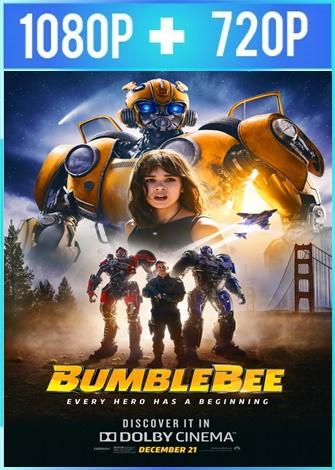 Bumblebee (2018) HD 1080p y 720p Latino Dual