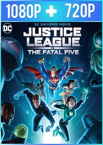Justice League vs the Fatal Five (2019) HD 1080p y 720p Latino Dual