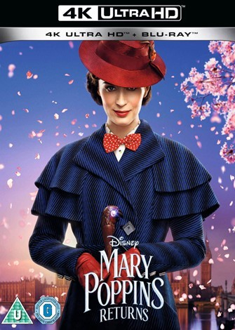 Mary Poppins Returns (2018) 4K Ultra HD Latino Dual