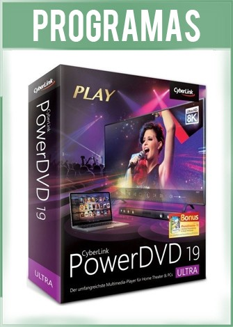 PowerDVD 19 Ultra Español CyberLink Reproductor HD