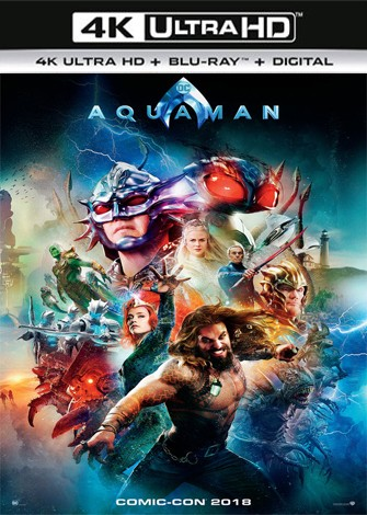 Aquaman (2018) 4K Ultra HD Latino Dual