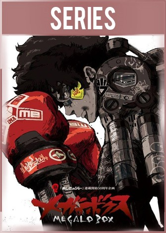 Megalobox Temporada 1 Completa HD 720p Latino Dual