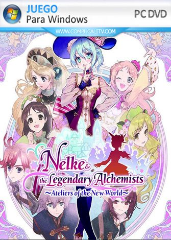 Nelke and the Legendary Alchemists Ateliers of the New World PC Full