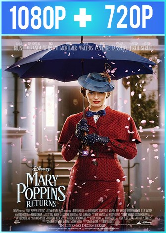 El regreso de Mary Poppins (2018) HD 1080p y 720p Latino