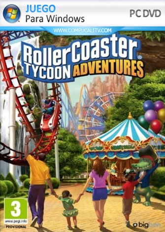 Rollercoaster Tycoon Adventures PC Full Español