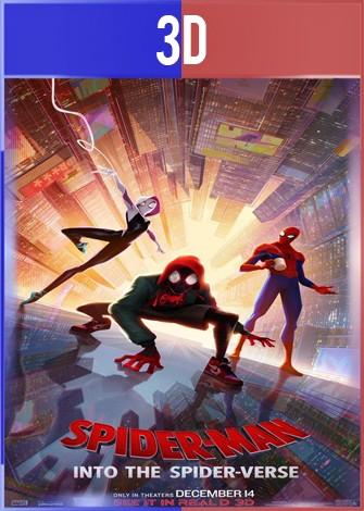 Spider-Man Un nuevo universo (2018) 3D SBS Latino Dual