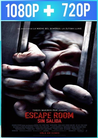 Escape room: sin salida (2019) HD 1080p y 720p Latino Dual