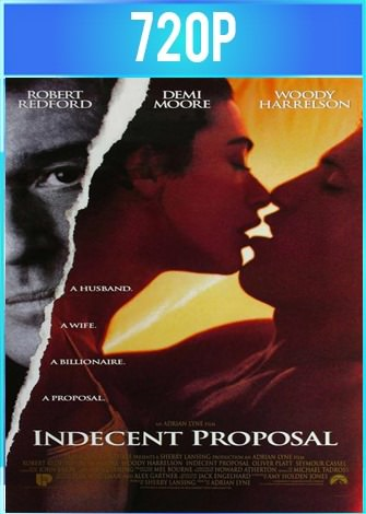 Propuesta indecente (1993) BRRip HD 720p Latino Dual