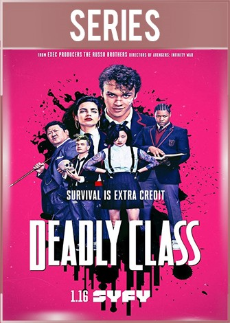 Deadly Class Temporada 1 Completa HD 720p Latino Dual
