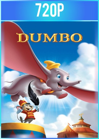 Dumbo (1941) BRRip HD 720p Latino Dual