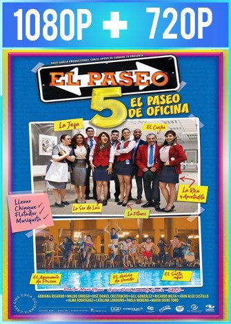 El paseo 5 El paseo de oficina (2018) HD 1080p y 720p Latino