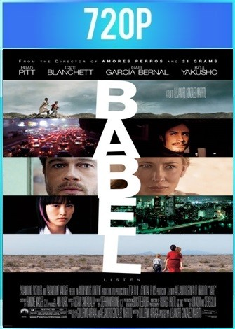 Babel (2006) BRRip HD 720p Latino Dual