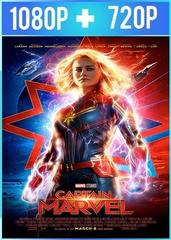 Capitana Marvel (2019) HD 1080p y 720p Latino Dual