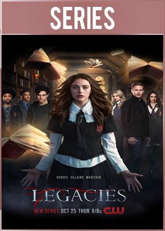 Legacies Temporada 1 Completa HD 720p Latino Dual