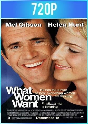 Lo que ellas quieren (2000) BRRip HD 720p Latino Dual