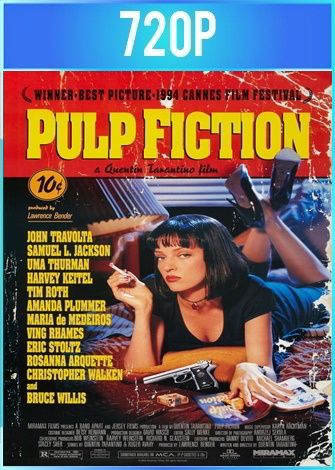 Pulp Fiction [Tiempos violentos] (1994) BRRip HD 720p Latino Dual