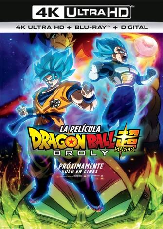 Dragon Ball Super Broly (2018) 4K Ultra HD Latino Dual