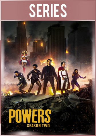 Powers Temporada 2 Completa HD 720p Latino Dual