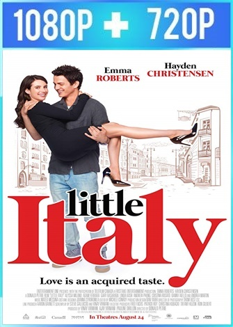Little Italy (2018) HD 1080p y 720p Latino Dual