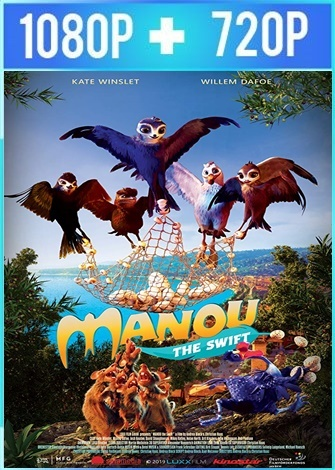 Manou the Swift [Pajaritos a volar] HD 1080p y 720p Latino