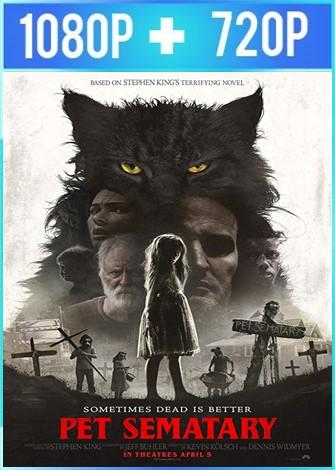 Pet Sematary [Cementerio maldito] (2019) HD 1080p y 720p Latino Dual