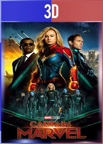 Capitana Marvel (2019) 3D SBS Latino Dual