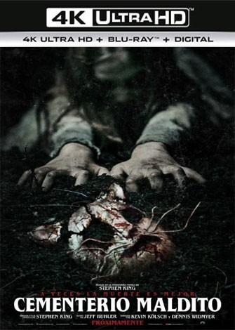 Cementerio maldito (2019) 4K Ultra HD Latino Dual