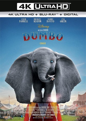 Dumbo (2019) 4K Ultra HD Latino Dual