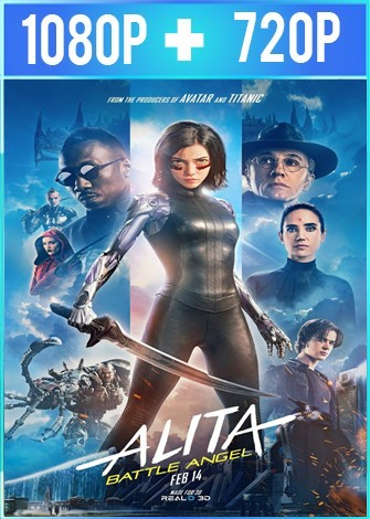 Battle Angel: la última guerrera (2019) HD 1080p y 720p Latino Dual