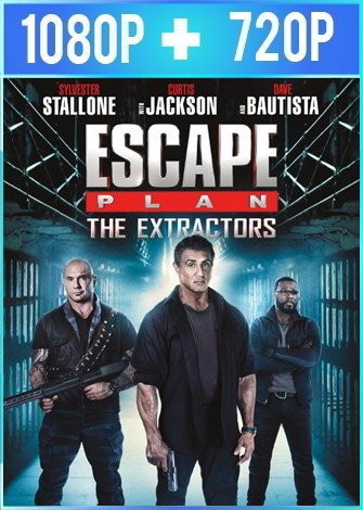 Escape Plan: The Extractors (2019) HD 1080p y 720p Latino Dual