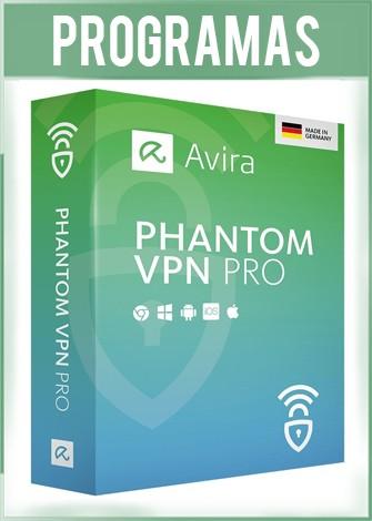 Avira Phantom VPN Pro Versión 2.26