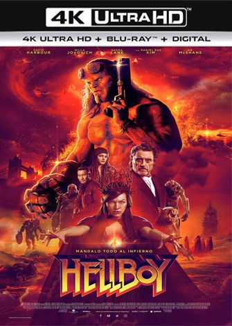 Hellboy (2019) 4K Ultra HD Latino Dual