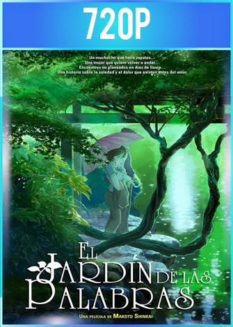 El jardín de las palabras (2013) HD 720p Latino Dual