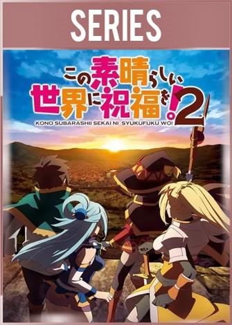 KonoSuba: Kono Subarashii Sekai ni Shukufuku o! 2 Temporada 2 Completa HD 720p Latino Dual