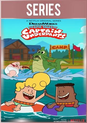 Las épicas aventuras Capitán Calzoncillos Temporada 3 HD 720p Latino