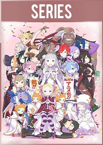 Re: Zero Kara Hajimeru Isekai Seikatsu Temporada 1 Completa HD 720p Latino
