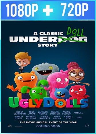 UglyDolls: Extraordinariamente feos (2019) HD 1080p y 720p Latino Dual